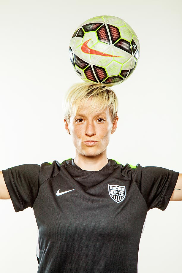 Meet the U.S. Women's World Cup team: Midfielder Megan Rapinoe