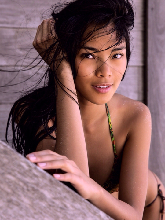 Meki Saldana :: Courtesy of Next Models