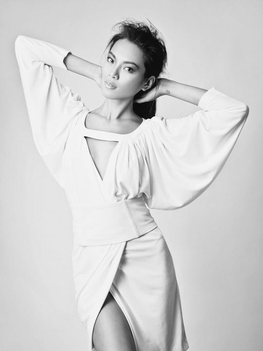 Meki Saldana :: Courtesy of Next Models