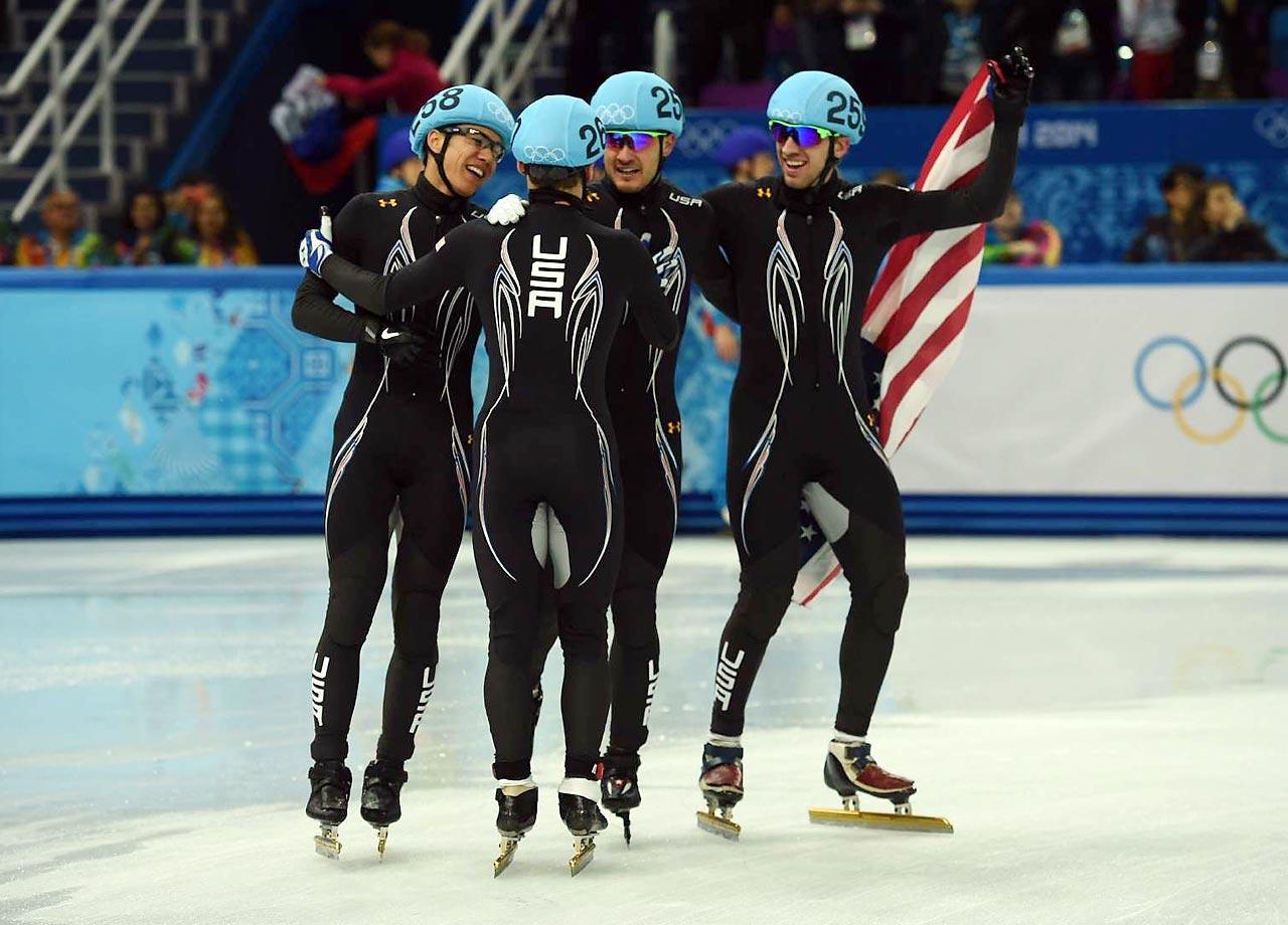 Silver: Short-Track Speedskating, Men's 5000m Relay
