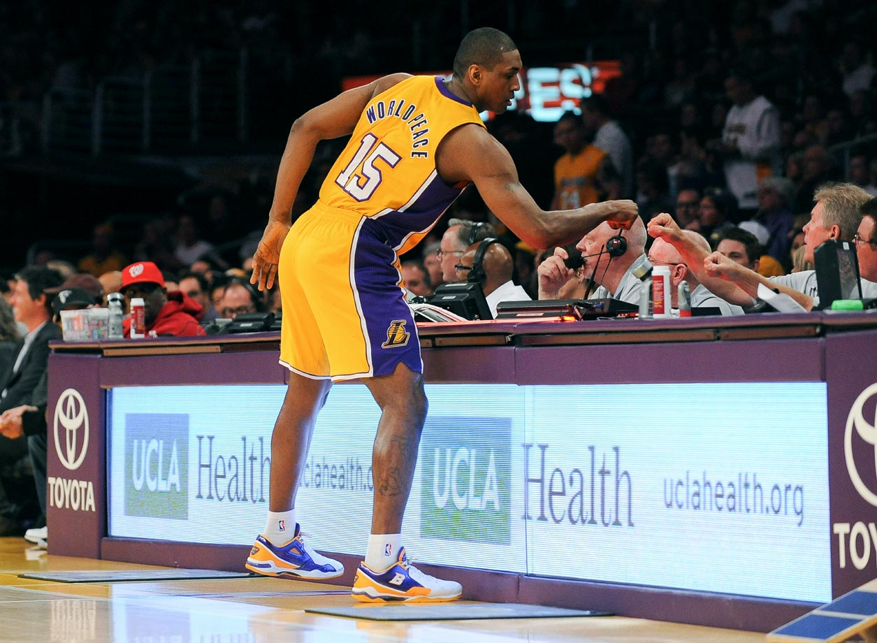"When the 31-year-old Ron Artest's name was legally changed to Metta World Peace on Sept. 16, 2011, he said in a statement, ''Changing my name was meant to inspire and bring youth together all around the world.''  In August 2014, World Peace, the newest member of the Chinese Basketball Association's Sichuan Blue Whales, announced on the Chinese social media site that a ""new Chinese name is coming soon.""  While we eagerly await that one, here's a look at other unusual name changes."