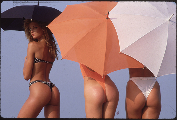 L to R: Stephanie Seymour, Maria von Hartz and Rachel Hunter