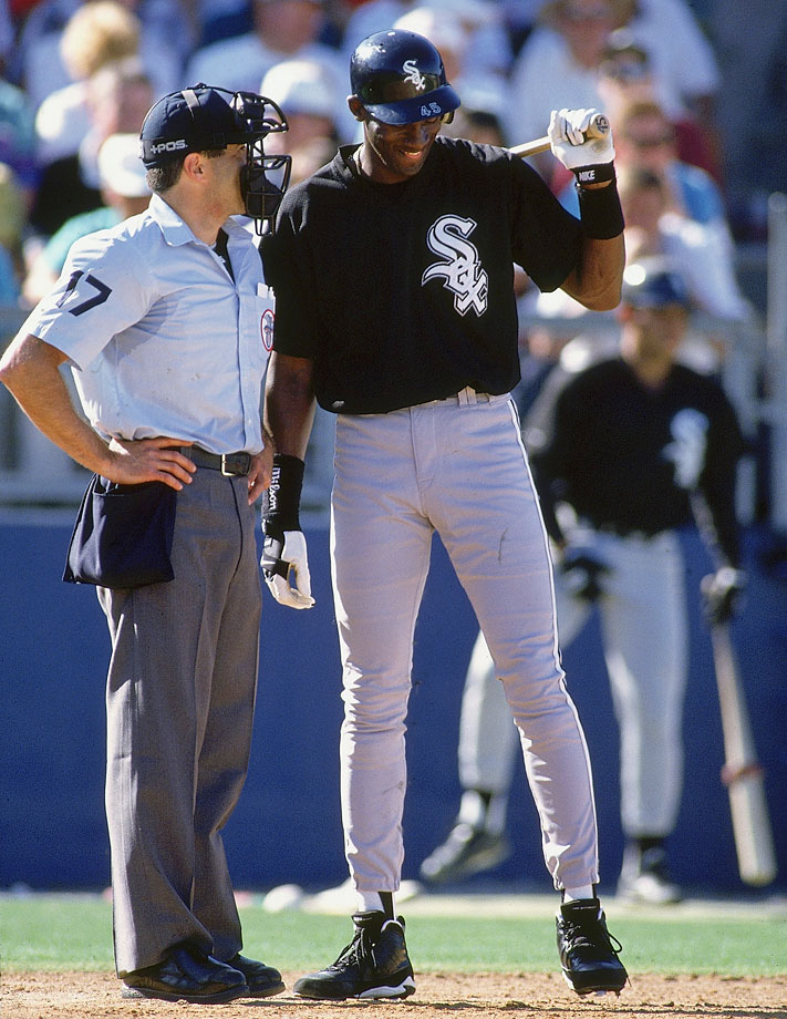 "During spring training, Jordan referred to an umpire as ""the ref."""
