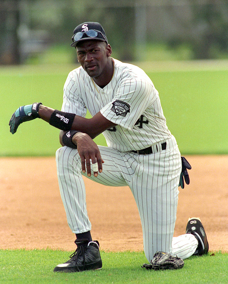 Try as he might, Michael Jordan found baseball beyond his grasp.