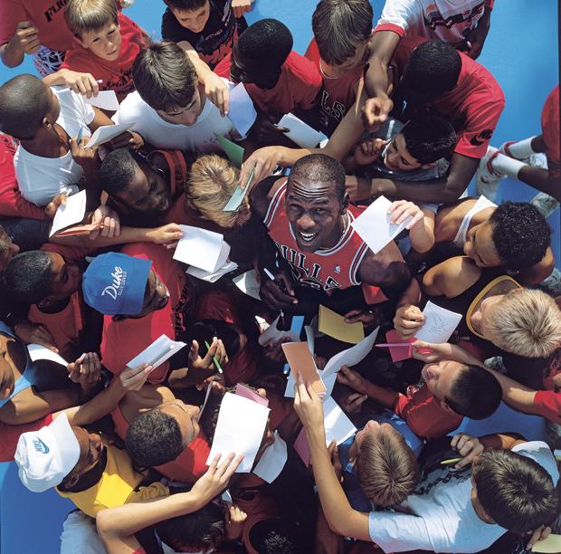 Michael Jordan (1987) :: Walter Iooss Jr./SI