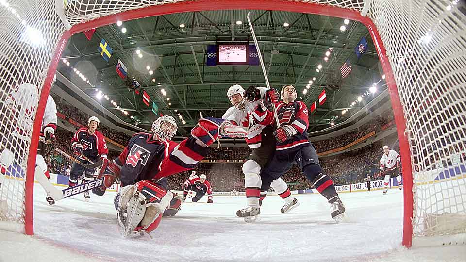 Richter's play throughout the 2002 Salt Lake City Games was nearly on par with his finest international work in the 1996 World Cup, but the final 20 minutes he played against Team Russia might have topped it. After two lackluster frames, the Russians came to life in the third period of the semi-final, raining shots on Richter as his teammates sagged under the assault. He bent, but didn't break, carrying the Americans to a semi-final win on the 22nd anniversary of the Miracle On Ice. Alas, Team USA ended up settling for silver, but it was America's first men's medal in the sport since the legendary Lake Placid Games of 1980.