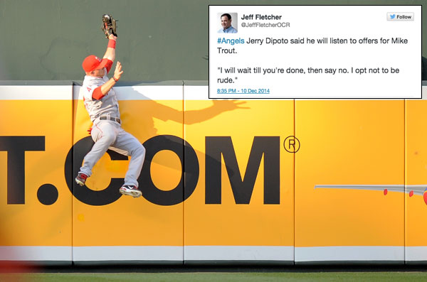 Mike Trout :: Getty Images