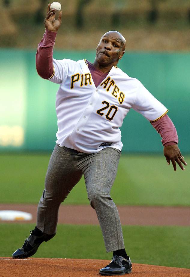 April 17 at PNC Park in Pittsburgh
