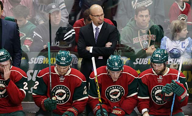 Will Mike Yeo be the next coach to go? He may if the Wild don't get their game together.
