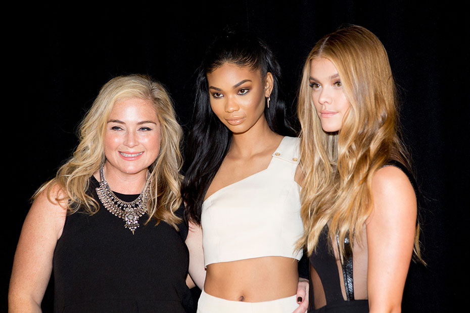 MJ Day, Chanel Iman and Nina Agdal :: Photo by Taylor Ballantyne