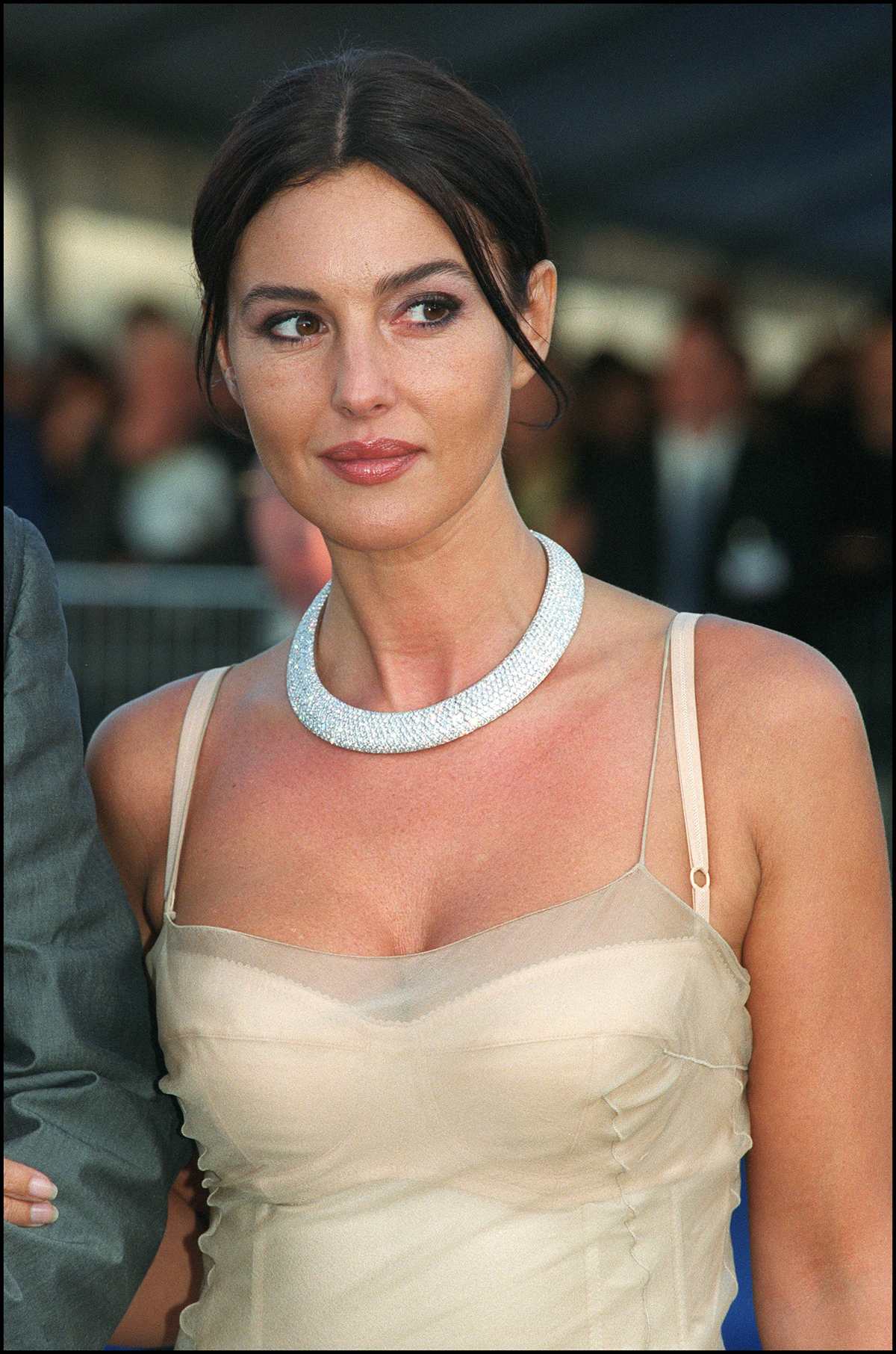 At the Deauville Film Festival, 2000