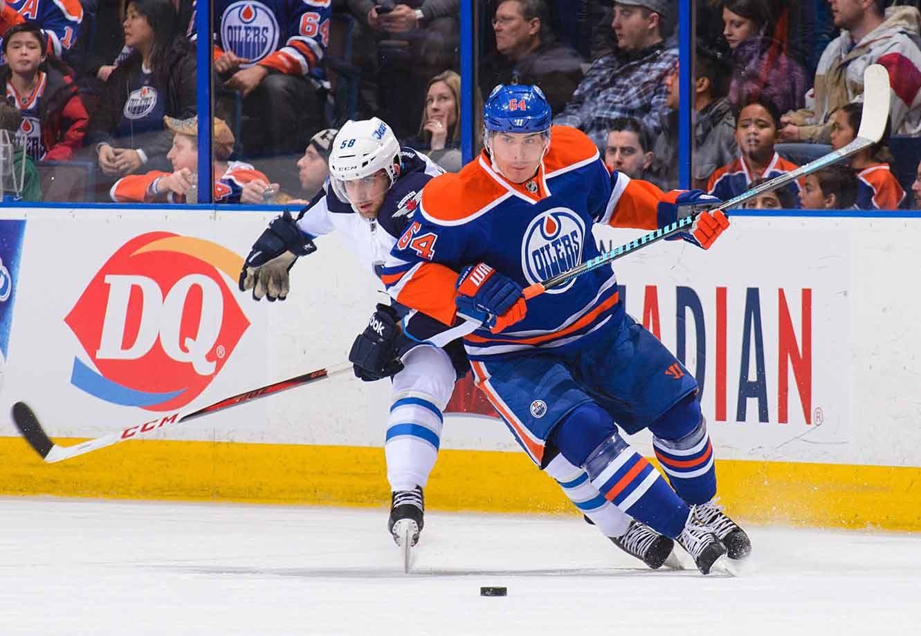 He led all rookies with 17 goals in the lockout-shortened season of 2012–13. But Yakupov, the top pick in the '12 draft, followed that up with a dreadful sophomore campaign in which he scored 24 points in 63 games. (An ankle injury sidelined the 21-year-old winger for 14 games last season, and Edmonton coach Dallas Eakins sidelined him for a couple more.) Yakupov has since made nice with Eakins. He reported to camp this fall carrying an extra 11 pounds of muscle.