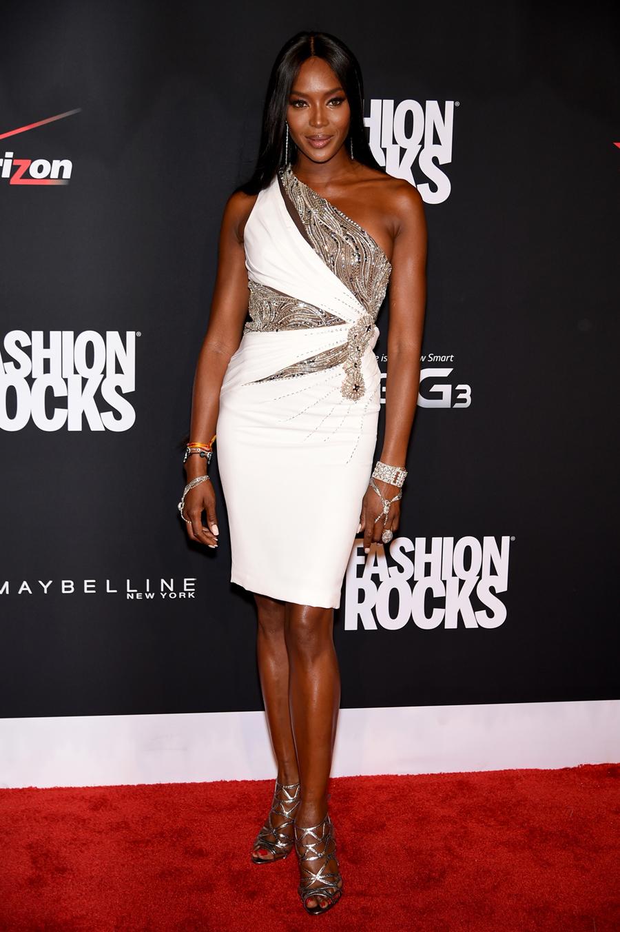 Naomi Campbell at Fashion Rocks