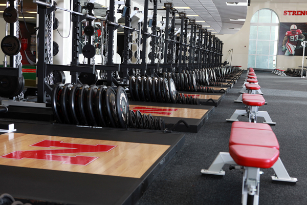The Suh Center is around 20,000 square feet, according to James Dobson, the Huskers' head football strength coach.