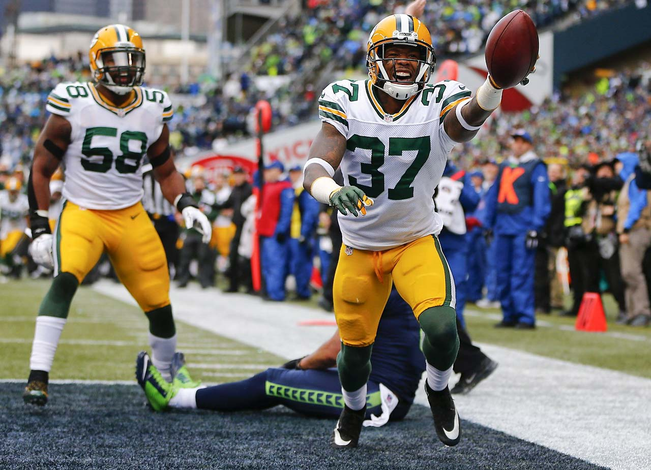 On a day when Sam Shields and the Packers created five Seattle turnovers, the effort wasn't enough as the Seahawks completed the third-biggest comeback in playoff history.