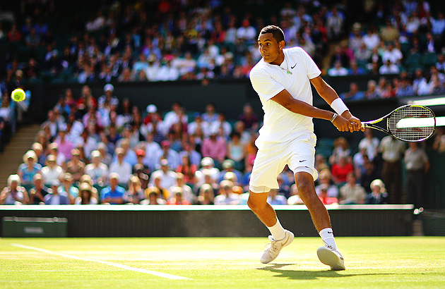 Nick Kyrgios scored the win of his career when he knocked out two-time Wimbledon champion Rafael Nadal in the fourth round.