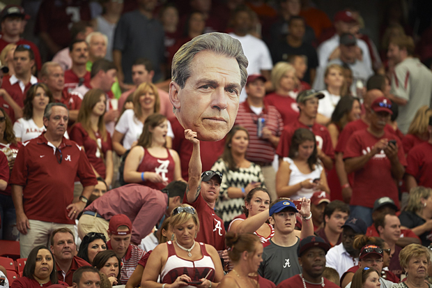 Nick Saban :: David E. Klutho/SI