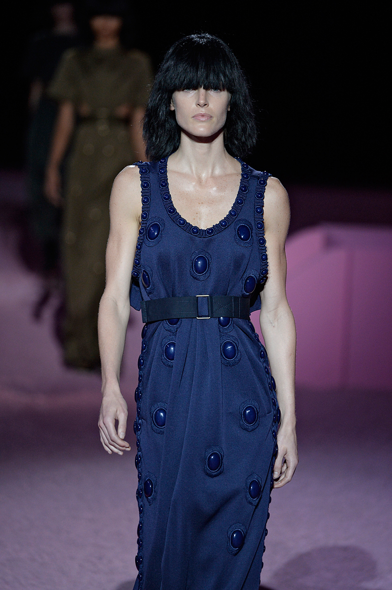 Hilary Rhoda for Marc Jacobs