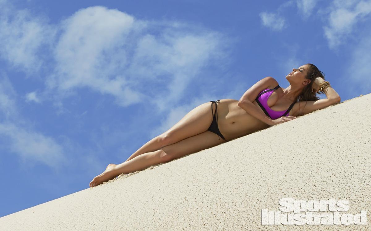 Natasha Barnard was photographed by Raphael Mazzucco in Brazil. Swimsuit by TAVIK Swimwear.