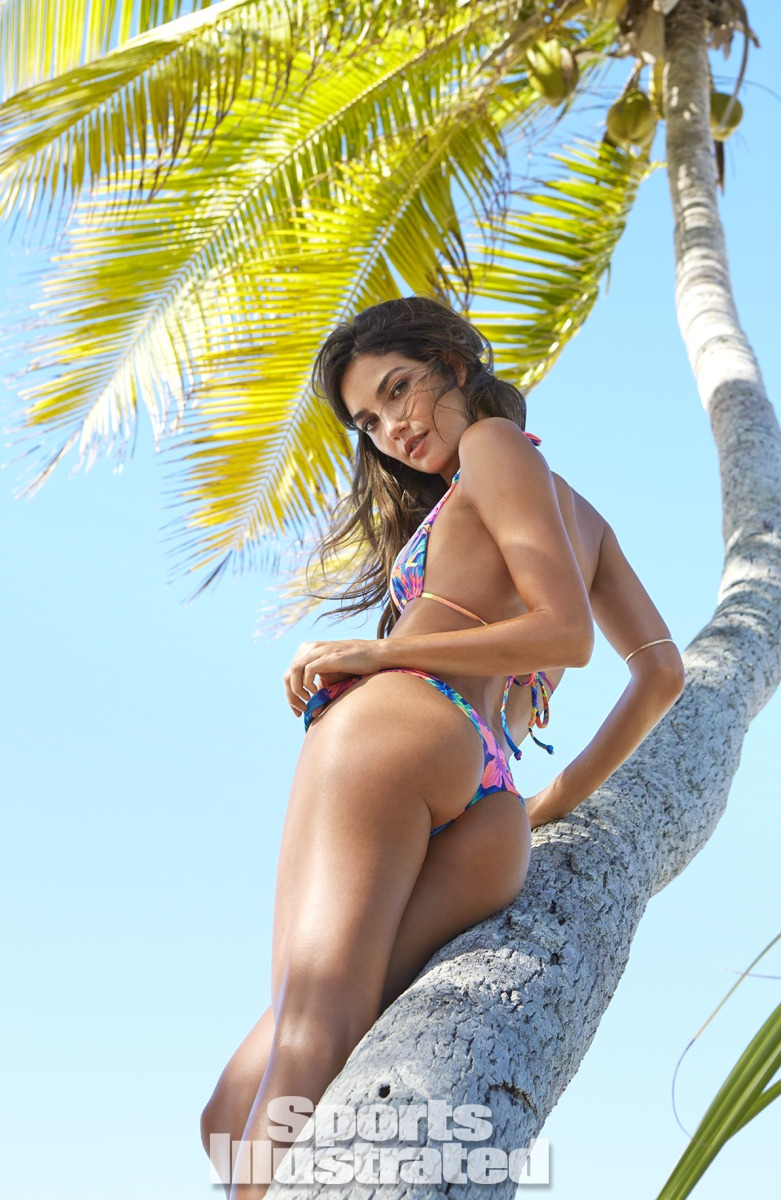 Lily Aldridge was photographed by James Macari in the Cook Islands. Swimsuit by STONE FOX SWIM.