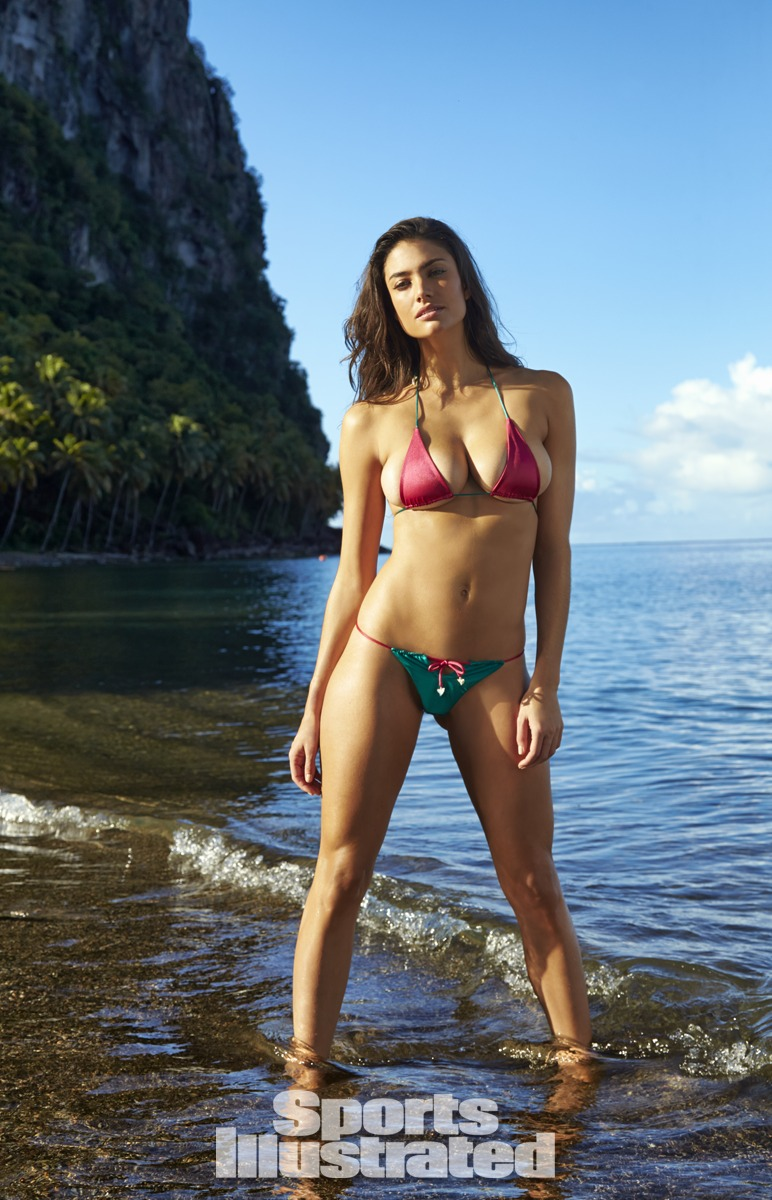 Lauren Mellor in St. Lucia, Swimsuit 2014