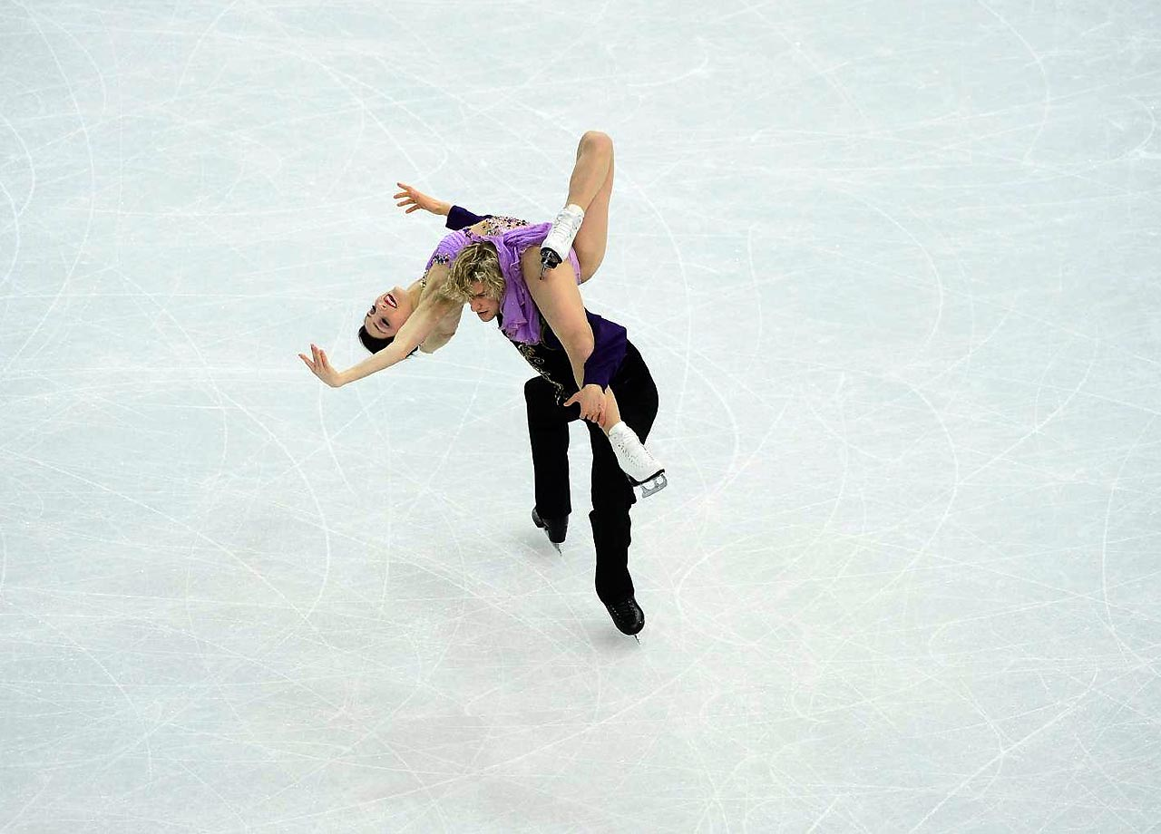 Davis and White took home the silver medal in the Vancouver Games.