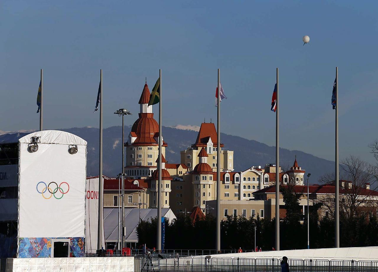 The average temperature in Sochi for the games is expected to be 48 degrees, which would be the warmest ever for a Winter Olympics.