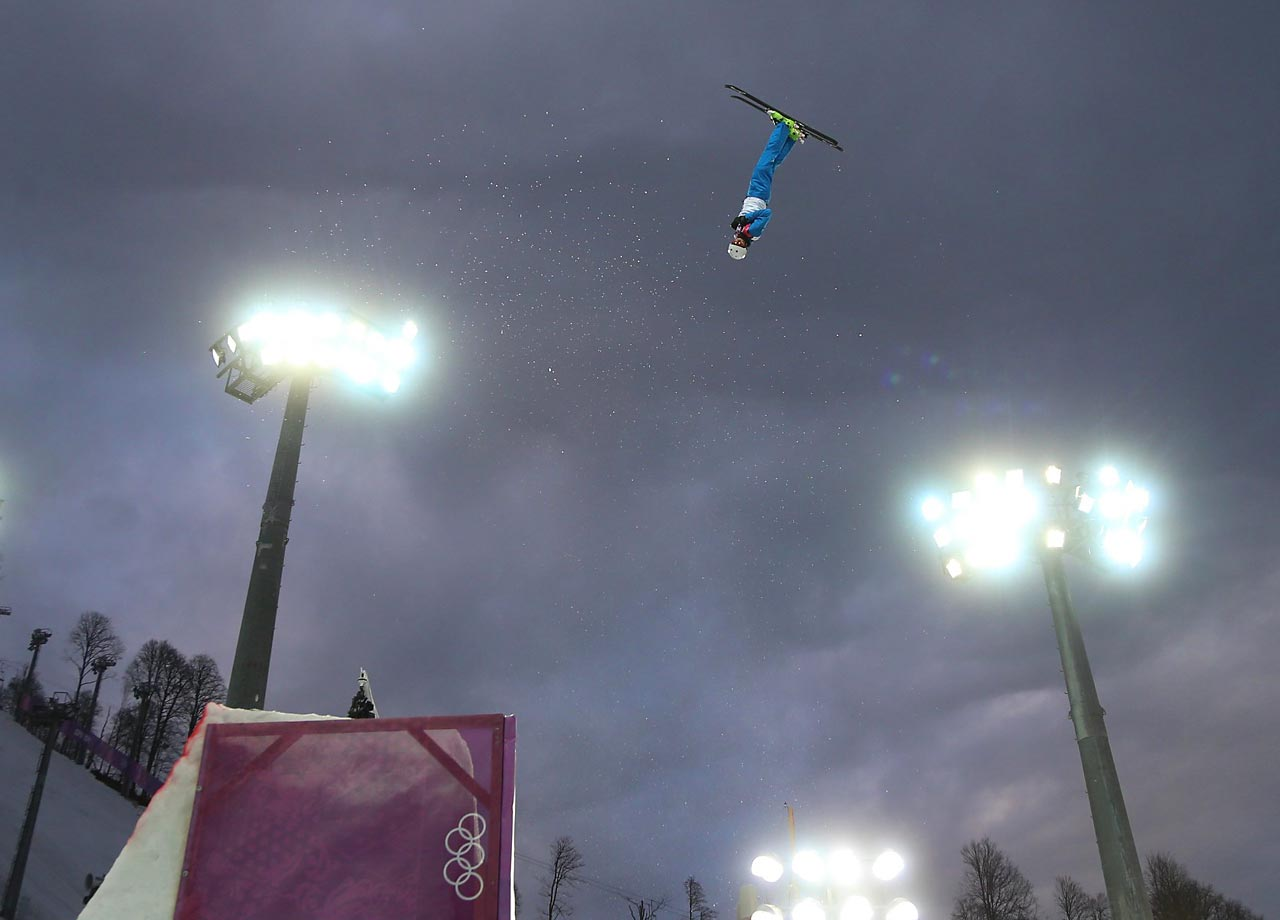 Anton Kushnir of Belarus won the gold medal in aerials, matching his countrymate Alla Tsuper, who took home gold in the women's competition last Friday.