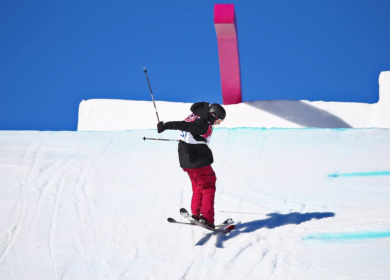 Men's Ski Slopestyle Qualification.