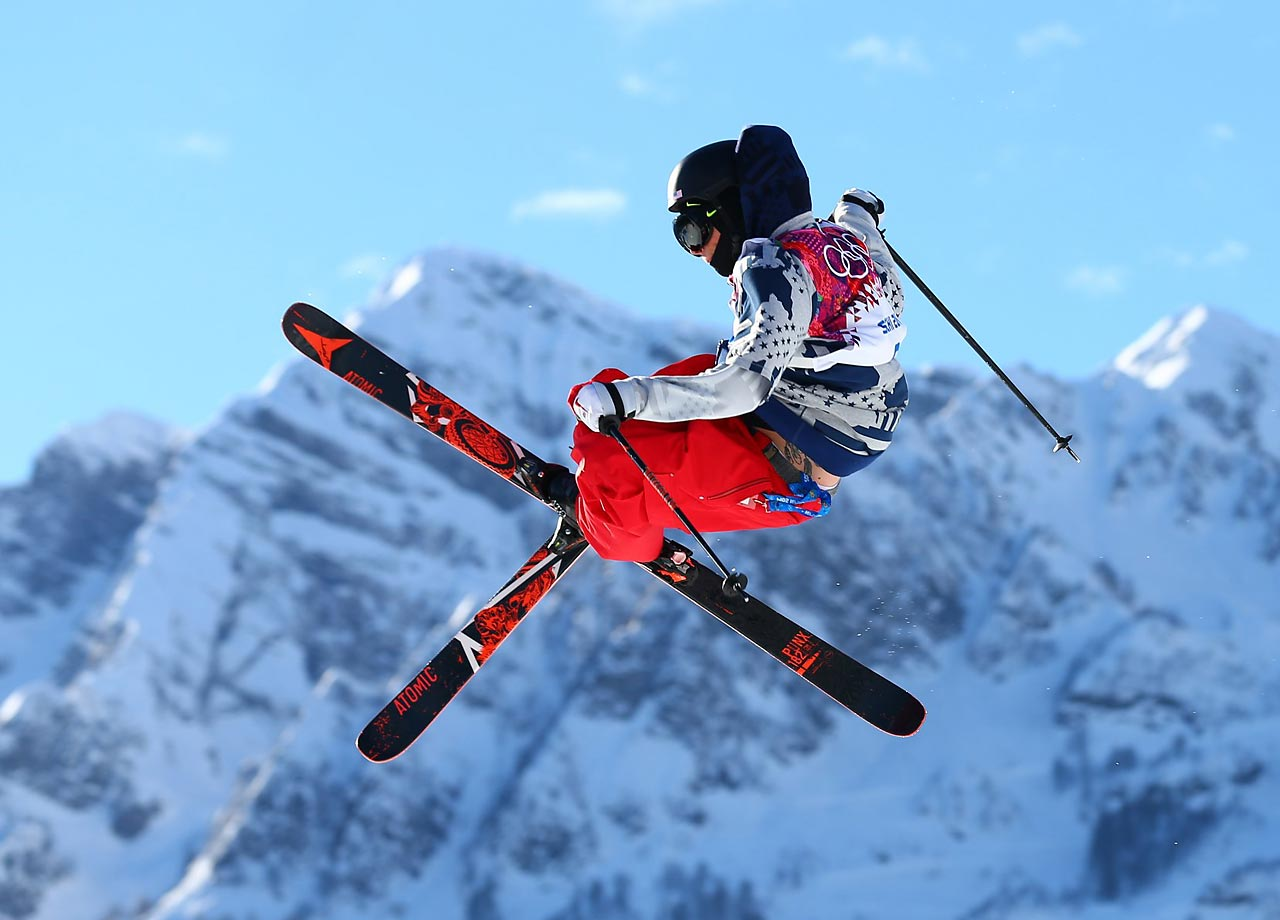 Gus Kenworthy of the U.S. wins the silver in Slopestyle.