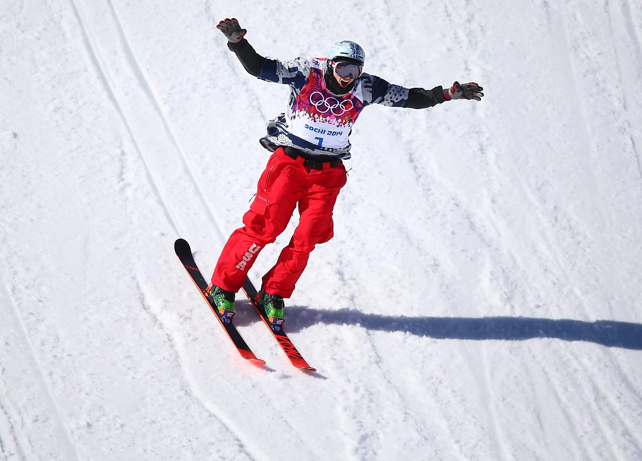 Nick Goepper of the U.S. wins the bronze in Slopestyle.