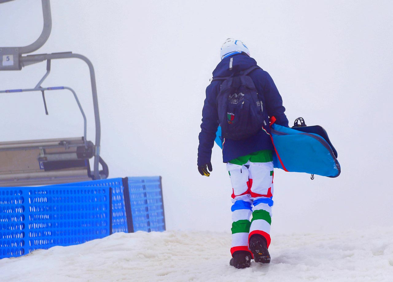 Tuesday's snowboard cross race will be under a modified format. There will be no qualifying and instead the racers will be bracketed based on their world ranking. (AP)