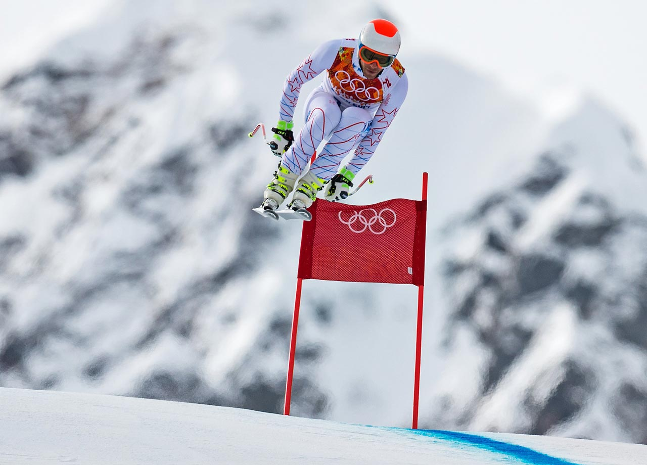 Miller finished in eighth place in the downhill.