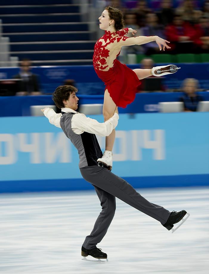 Alexandra Paul and Mitchell Islam of Canada.