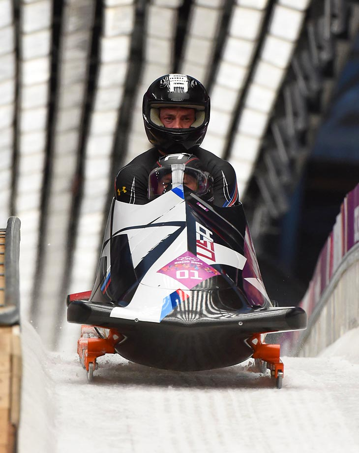 It was the first two-man medal by an American sled since 1952.