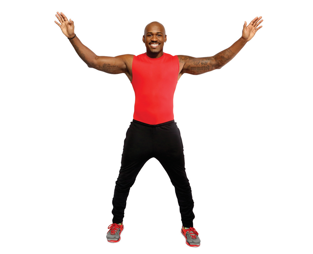 3. Jumping Jacks (30 seconds)