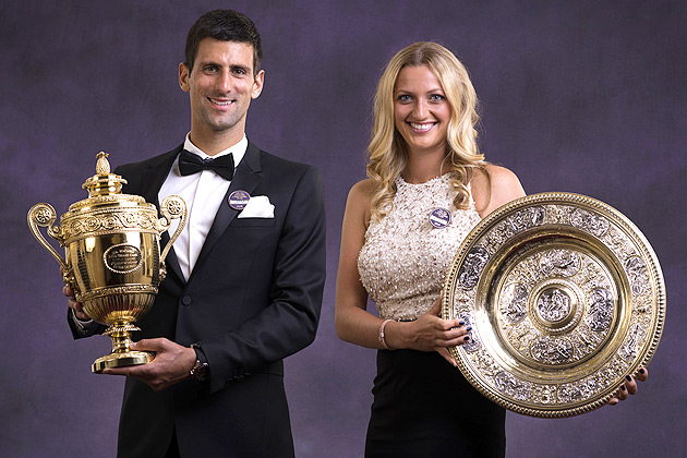 Presenting the 2014 Wimbledon champions.