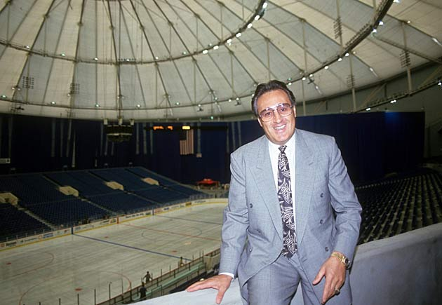"Expo Hall came to be know as ""Espo Hall"" after Phil Esposito, the architect of the Lightning."