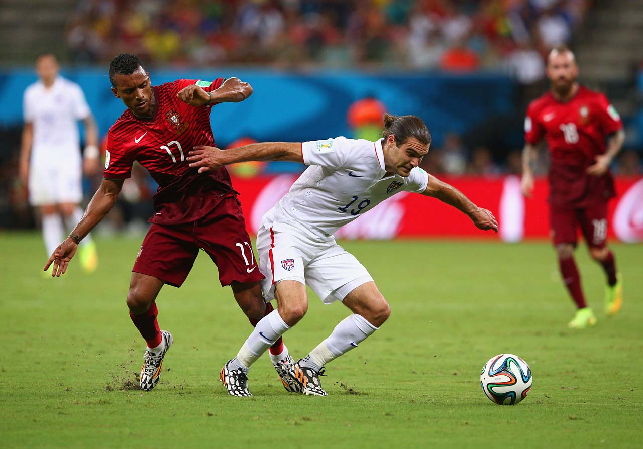 The U.S. is tied atop the Group with Germany, both with four points. Portugal is tied with Ghana at one point each.