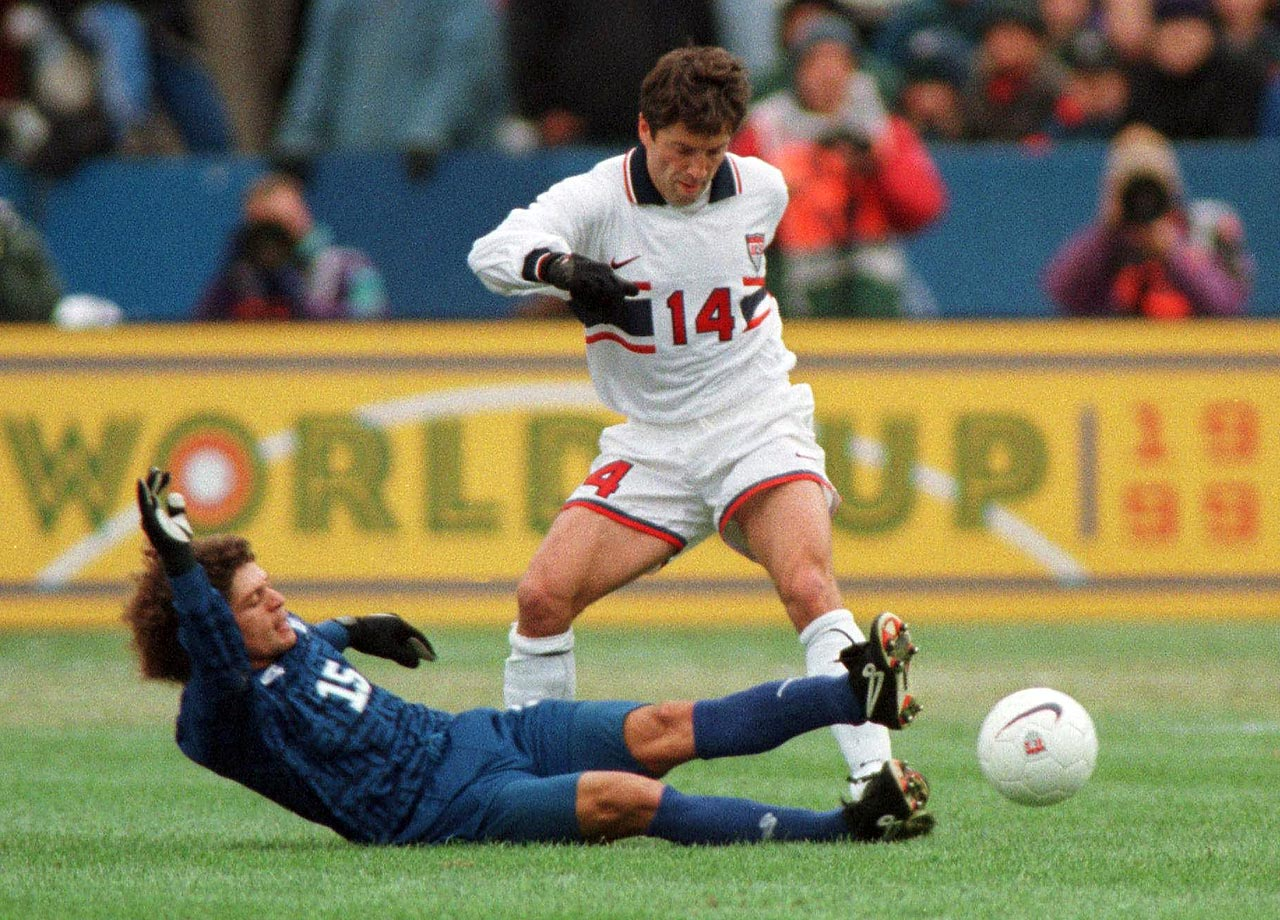Appearing in 28 games for the USMNT, Preki competed in the 1998 World Cup in France.  He was born in Belgrade, Serbia, in 1963, and became a U.S. citizen in October 1996.
