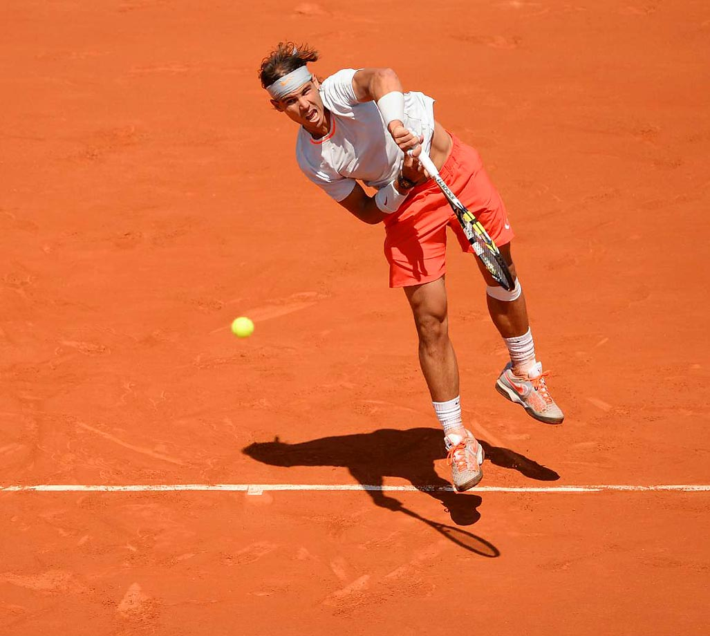 128036 Rafaelnadal is a main belt asteroid discovered on May 28, 2003, from an observatory in Mallorca, Spain, and named after the Majorca-born tennis great. Wouldn't it be fitting if the asteroid had even a tinge of clay.