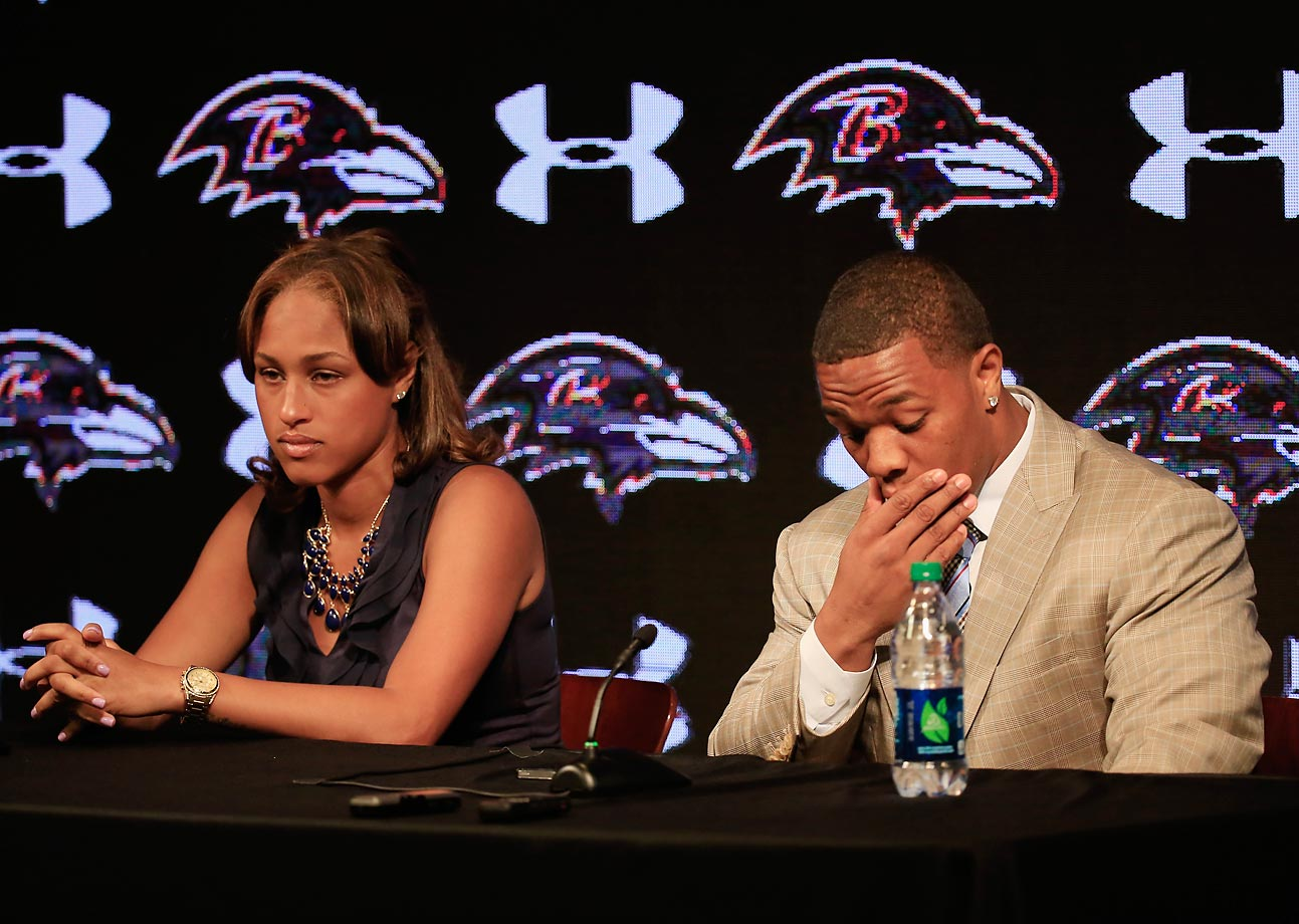 On the same day that newly released video showed images of Ray Rice striking his then-fiancee inside an Atlantic City Casino hotel elevator, the Baltimore Ravens terminated his contract and the NFL suspended the running back indefinitely.