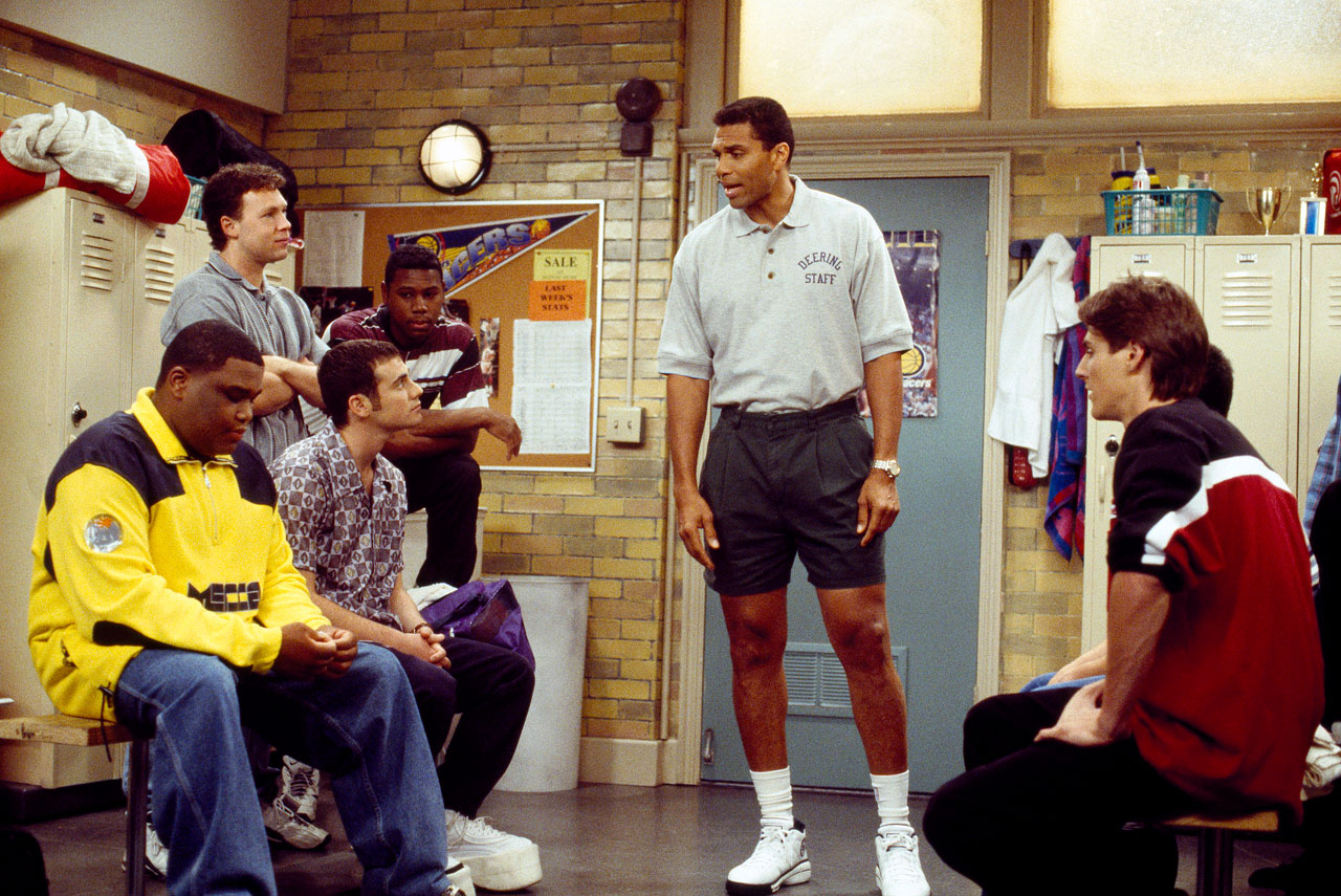 "The former player and current coach stuck to his basketball knowledge when he made his acting debut on sitcom ""Hang Time,"" playing high school basketball coach Bill Fuller. Theus, a two-time All-Star with the Chicago Bulls, also had cameos in ""Book of Love,"" ""Forget Paris"" and ""Like Mike."""