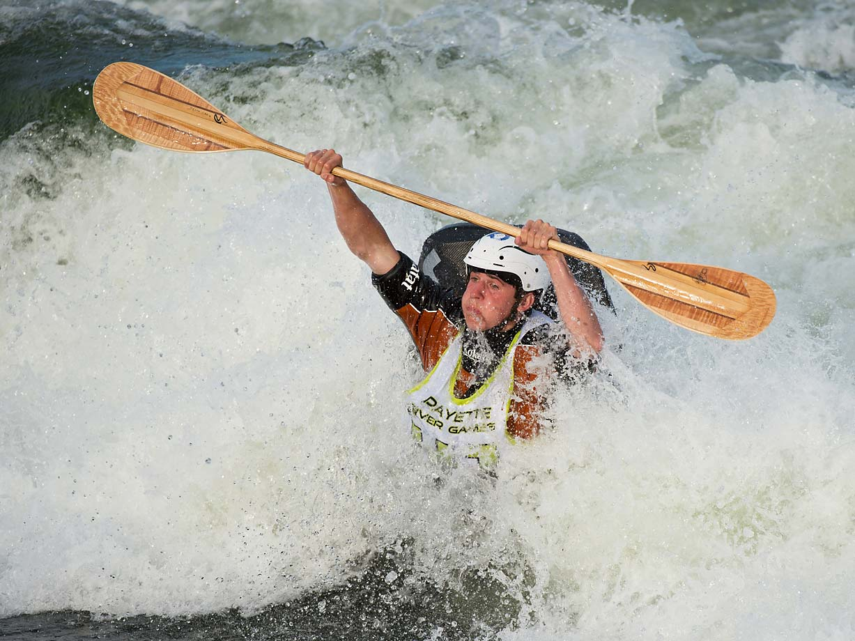 Jason Craig, one of the over 500 athletes competing at this year's Payette River Games