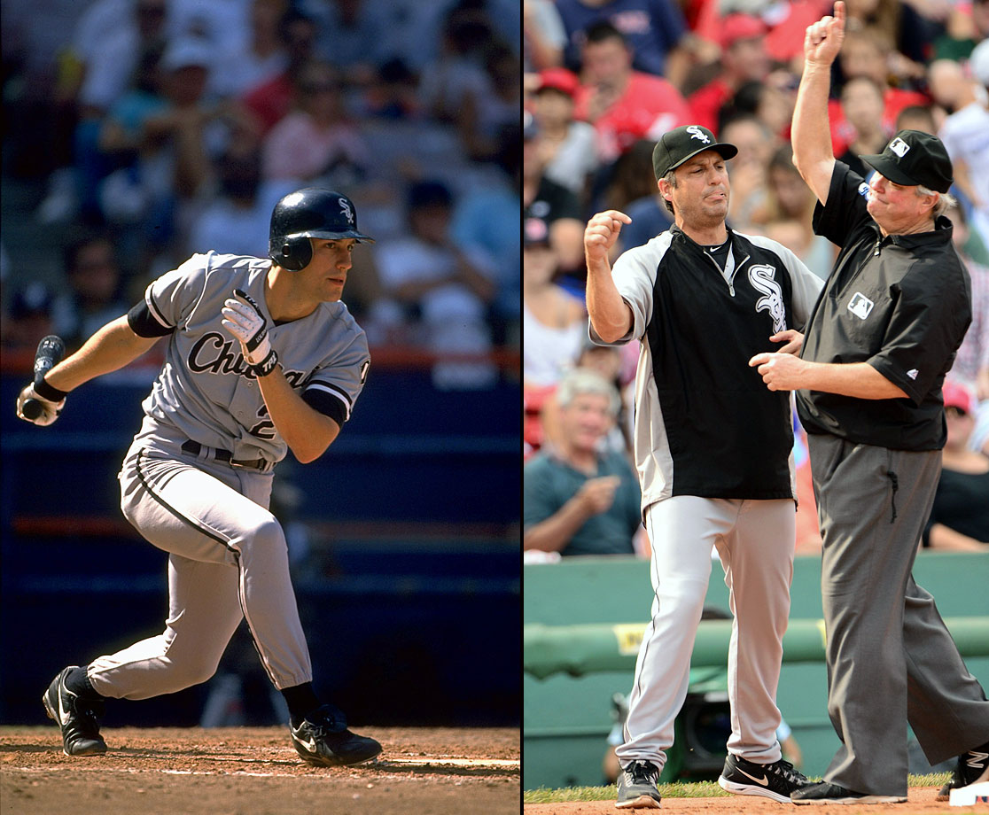 Robin Ventura played for four different clubs during his 16 years in Major League Baseball, most of which were spent with the Chicago White Sox. Throughout his career, he was named to two All-Star games and earned six Gold Gloves. HIs best hitting season came in 1999 with the New York Mets, when he smashed 32 home runs and 120 RBIs while batting .301. Ventura started managing his former Chicago club in 2012 and signed an extension at the start of 2014.