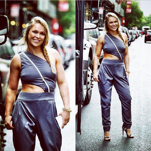 NYC summer outfit on the way to #UFCFightKit unveiling - Lovin' this @houseofcb I got from @alejandroperazastyle, you really make it fun to get girli - See more at: http://iconosquare.com/viewer.php#/detail/1019206212048405736_29320272