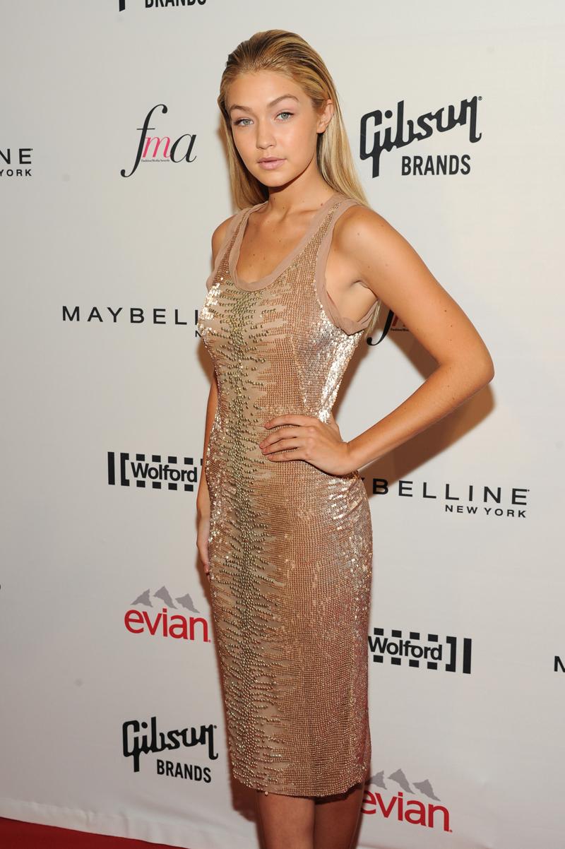 At the Fashion Media Awards