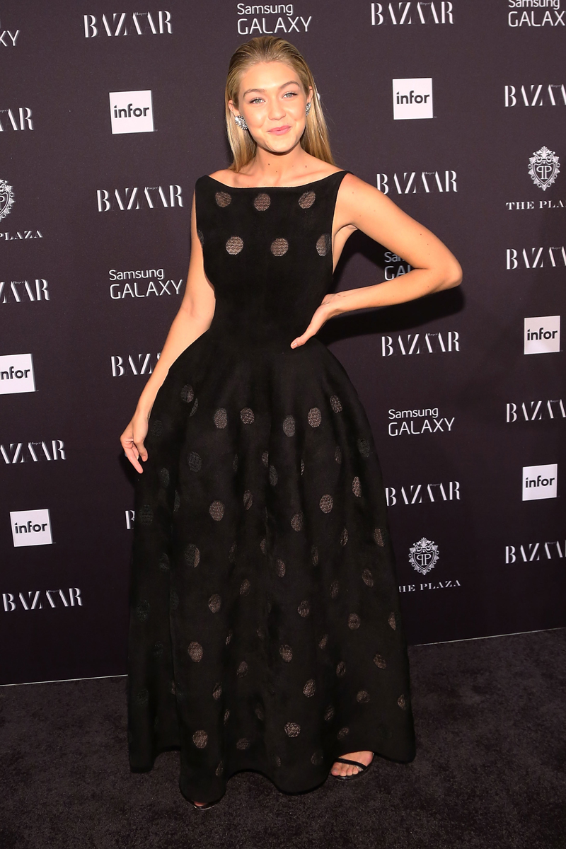 At an event for Harper's Bazaar