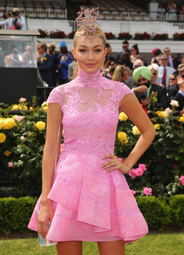 At the Melbourne Cup
