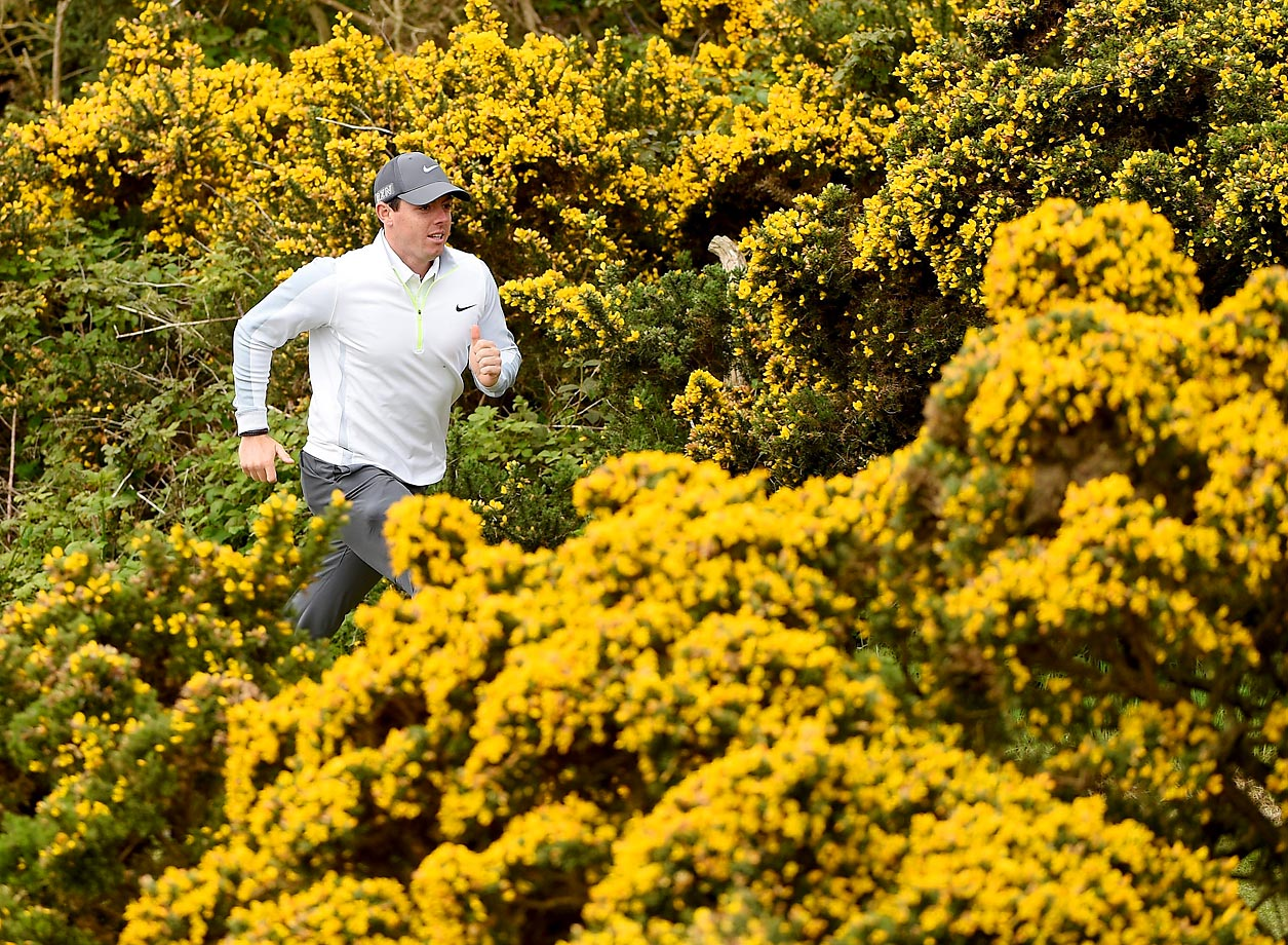 Rory McIlroy is off and running at the pro-am event before The Irish Open.